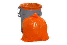 orange trash bags for sale orange trash liners orange trash