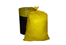 55 gallon yellow trash bags