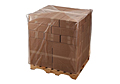 """4 mil Clear Gusseted Bags on Rolls, 54 x 44 x 120""""-2076"""