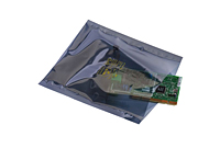 "Static Shielding Bags Transparent Metallic - Lay Flat, 3 x 5""-0"