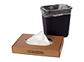"""40-45 Gallon 14 Micron Clear HDPE Liners, 40 x 48""""-4217"""