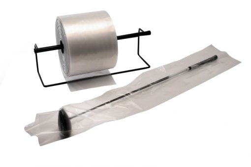 """2 Mil Clear Poly Tubing, 4"""" x 3000'-3396"""