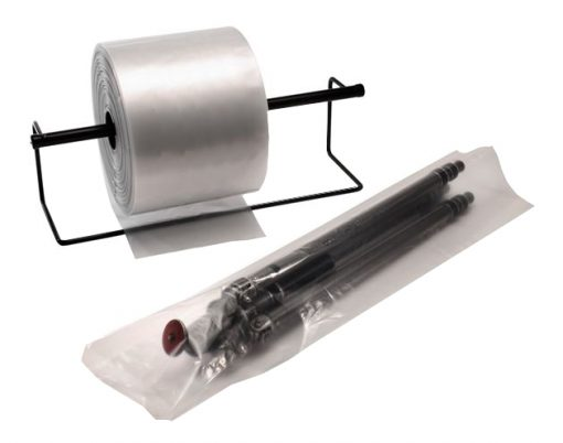 """4 Mil Clear Poly Tubing, 7"""" x 1500'-3705"""