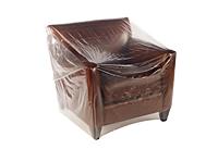 "Clear Furniture Bags 100"" Sofa, 134 x 45""-0"