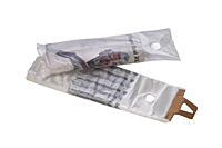 "0.4 mil Clear High Density Newspaper Bags, 5.5 x 16"" without Hang Hole-0"