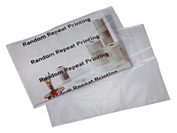 "Clear Postal Approved Mailing Bags, 9 x 12""-0"