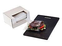 "1 mil Sandwich Bags Reclosable in Dispenser Box, 6.5 x 6""-0"