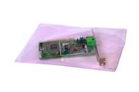 "4 mil Pink Antistatic Bags, 4 x 8""-0"