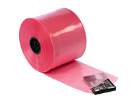 "4 mil Pink Antistatic Tubing, 4"" x 750'-0"