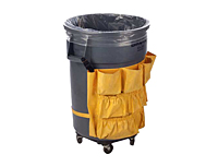 """60 Gallon 6 Mil Clear Low-Density Liners, 38 x 65""""-0"""